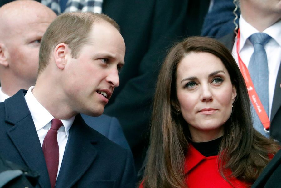 Kate Middleton Et Le Prince William Au Stade De France Pour Le Match De Rugby France Pays De Galles 24