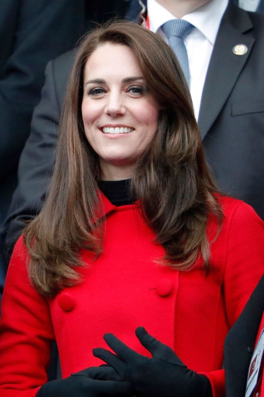Kate Middleton Et Le Prince William Au Stade De France Pour Le Match De Rugby France Pays De Galles 25