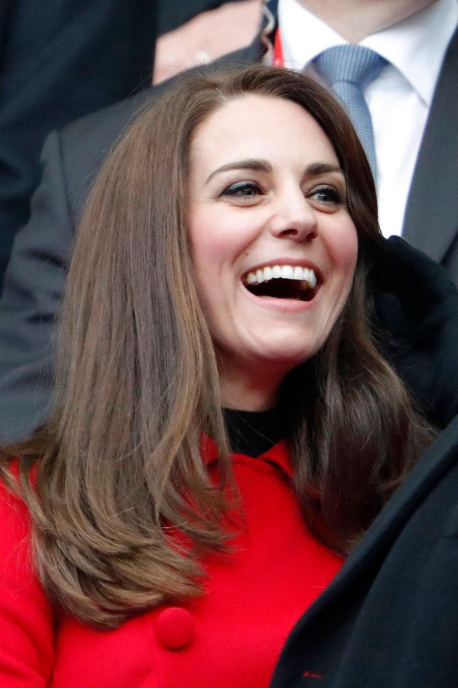 Kate Middleton Et Le Prince William Au Stade De France Pour Le Match De Rugby France Pays De Galles 26