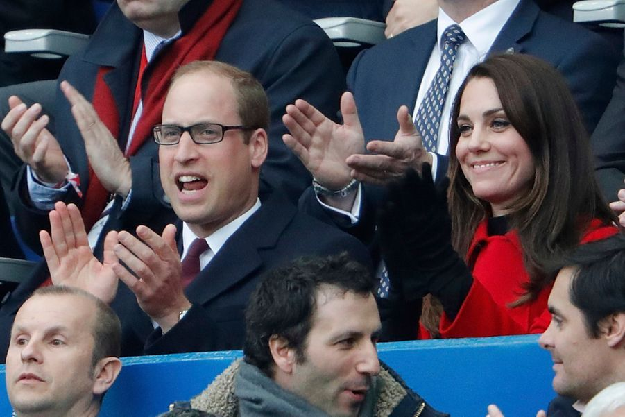 Kate Middleton Et Le Prince William Au Stade De France Pour Le Match De Rugby France Pays De Galles 29