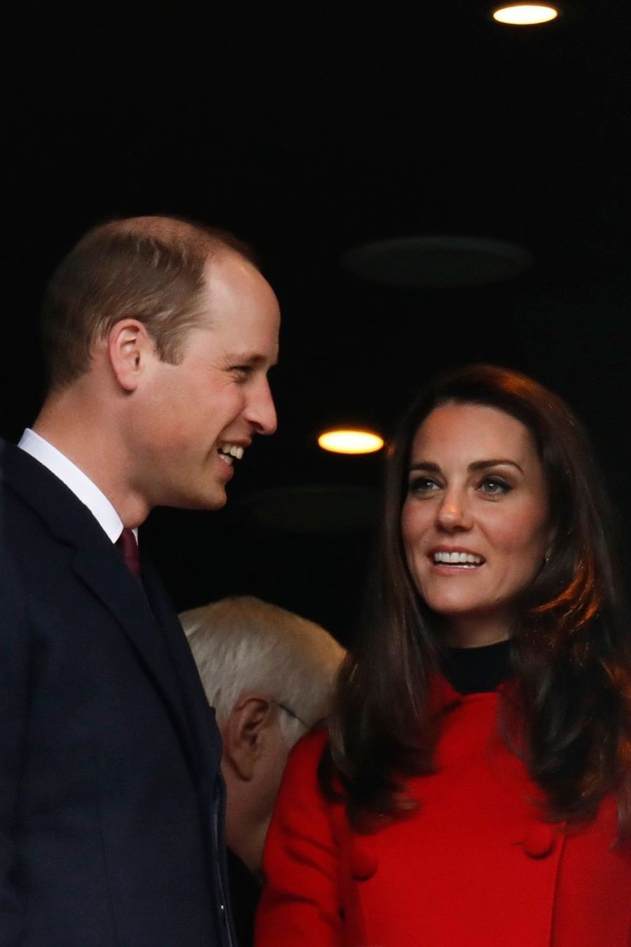 Kate Middleton Et Le Prince William Au Stade De France Pour Le Match De Rugby France Pays De Galles 3