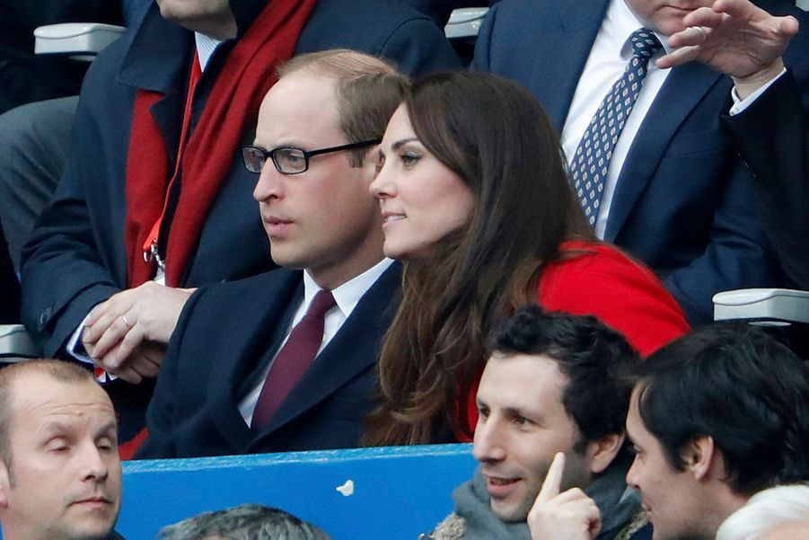 Kate Middleton Et Le Prince William Au Stade De France Pour Le Match De Rugby France Pays De Galles 30