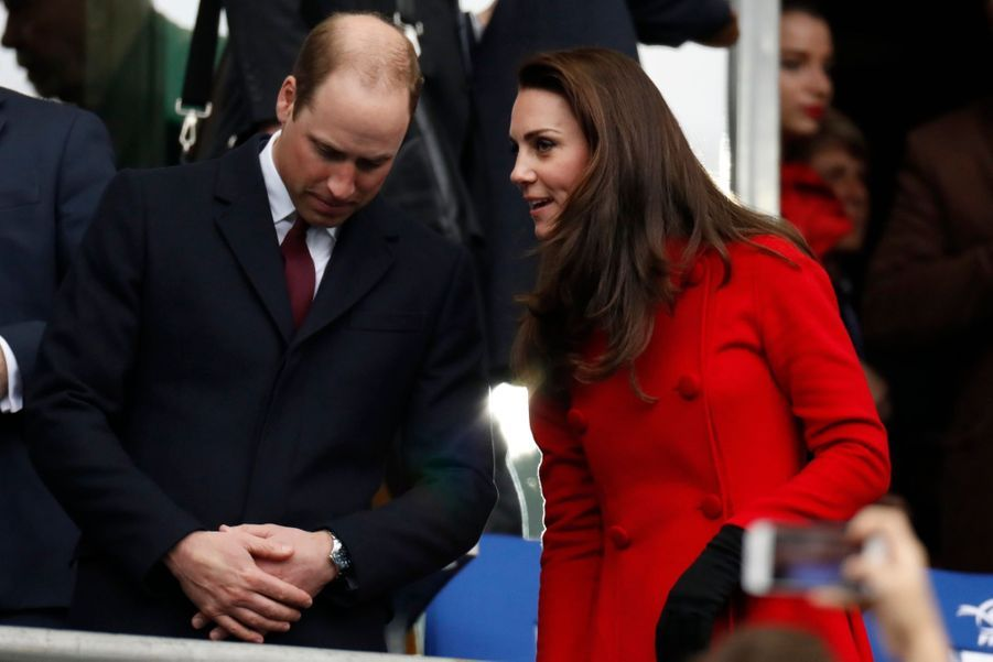 Kate Middleton Et Le Prince William Au Stade De France Pour Le Match De Rugby France Pays De Galles 5