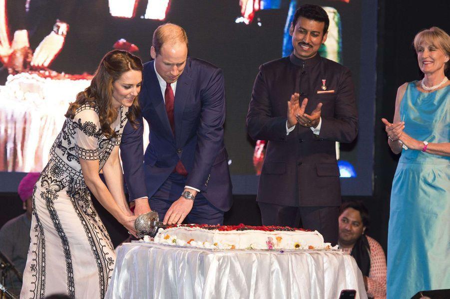 Le prince William et la duchesse Catherine à New Delhi, le 11 avril 2016 Shutterstock/SIPA