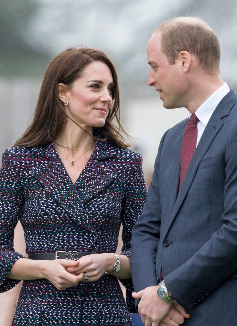 Kate Middleton Et Le Prince William Jouent Au Rugby Sur L'esplanade Du Trocadéro 12