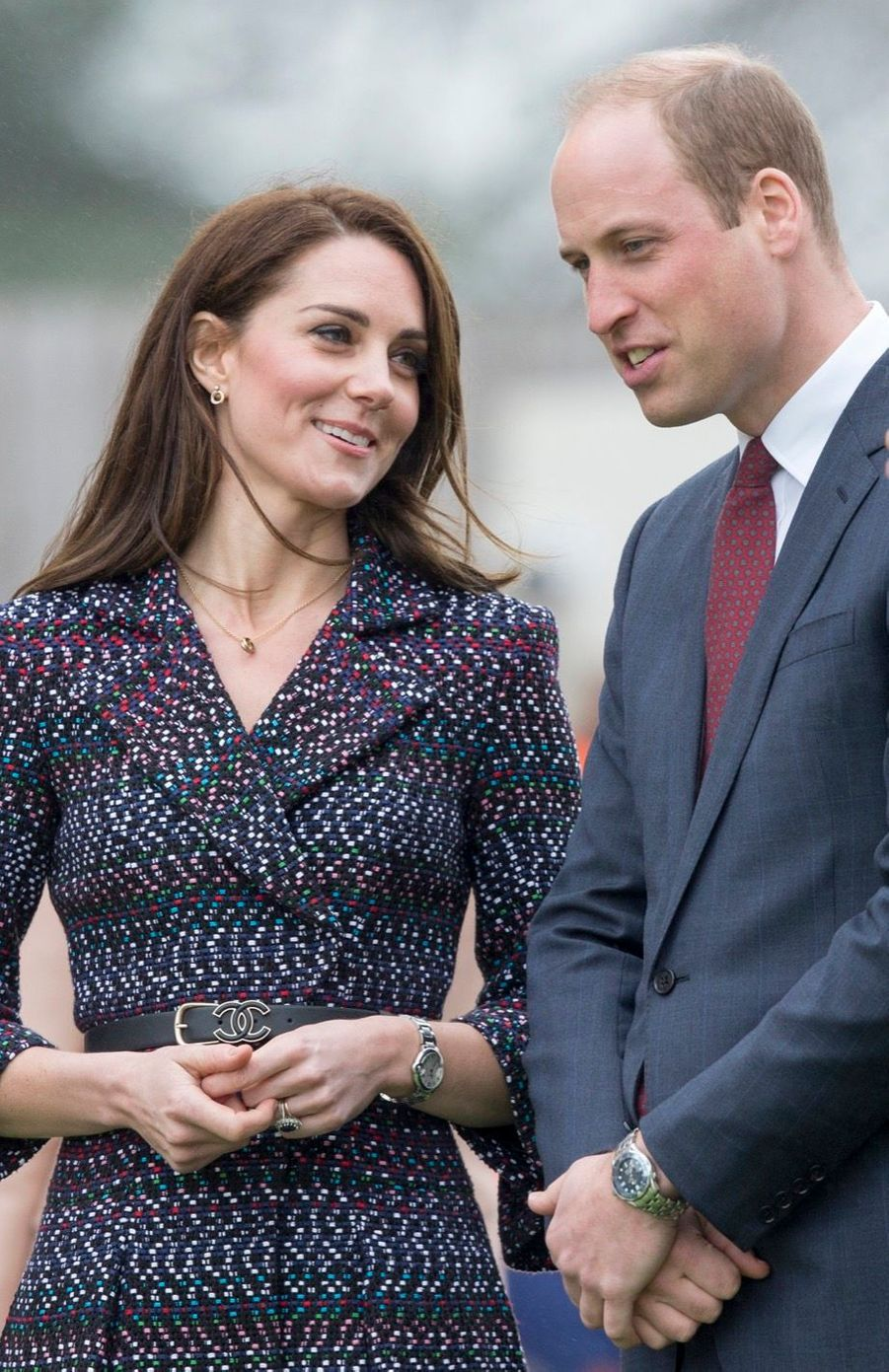 Kate Middleton Et Le Prince William Jouent Au Rugby Sur L'esplanade Du Trocadéro 13