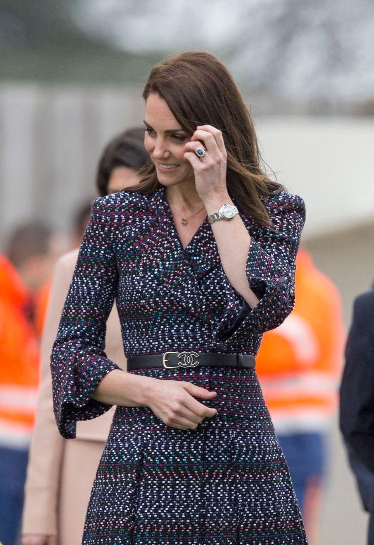 Kate Middleton Et Le Prince William Jouent Au Rugby Sur L'esplanade Du Trocadéro 14