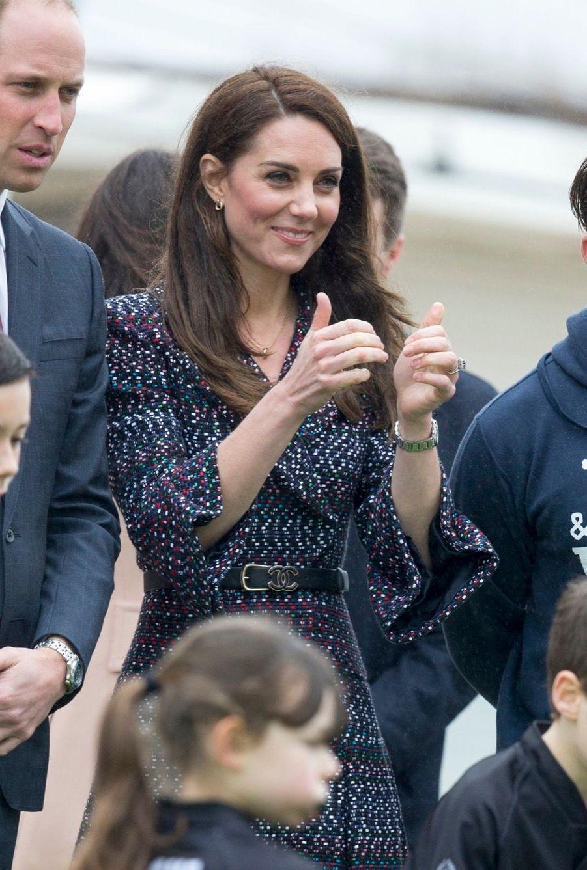 Kate Middleton Et Le Prince William Jouent Au Rugby Sur L'esplanade Du Trocadéro 16