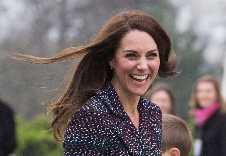 Kate Middleton Et Le Prince William Jouent Au Rugby Sur L'esplanade Du Trocadéro 29