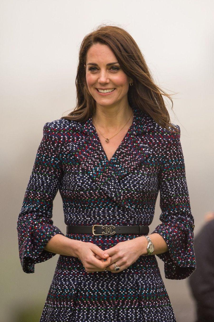 Kate Middleton Et Le Prince William Jouent Au Rugby Sur L'esplanade Du Trocadéro 34