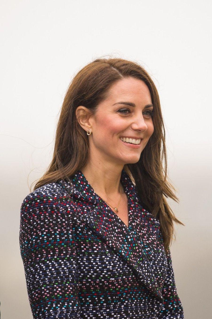 Kate Middleton Et Le Prince William Jouent Au Rugby Sur L'esplanade Du Trocadéro 35