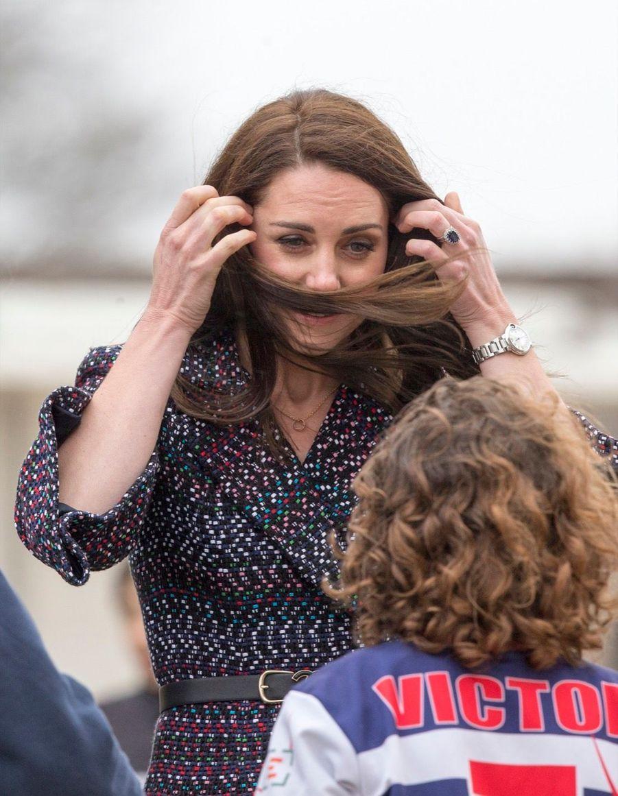 Kate Middleton Et Le Prince William Jouent Au Rugby Sur L'esplanade Du Trocadéro 6