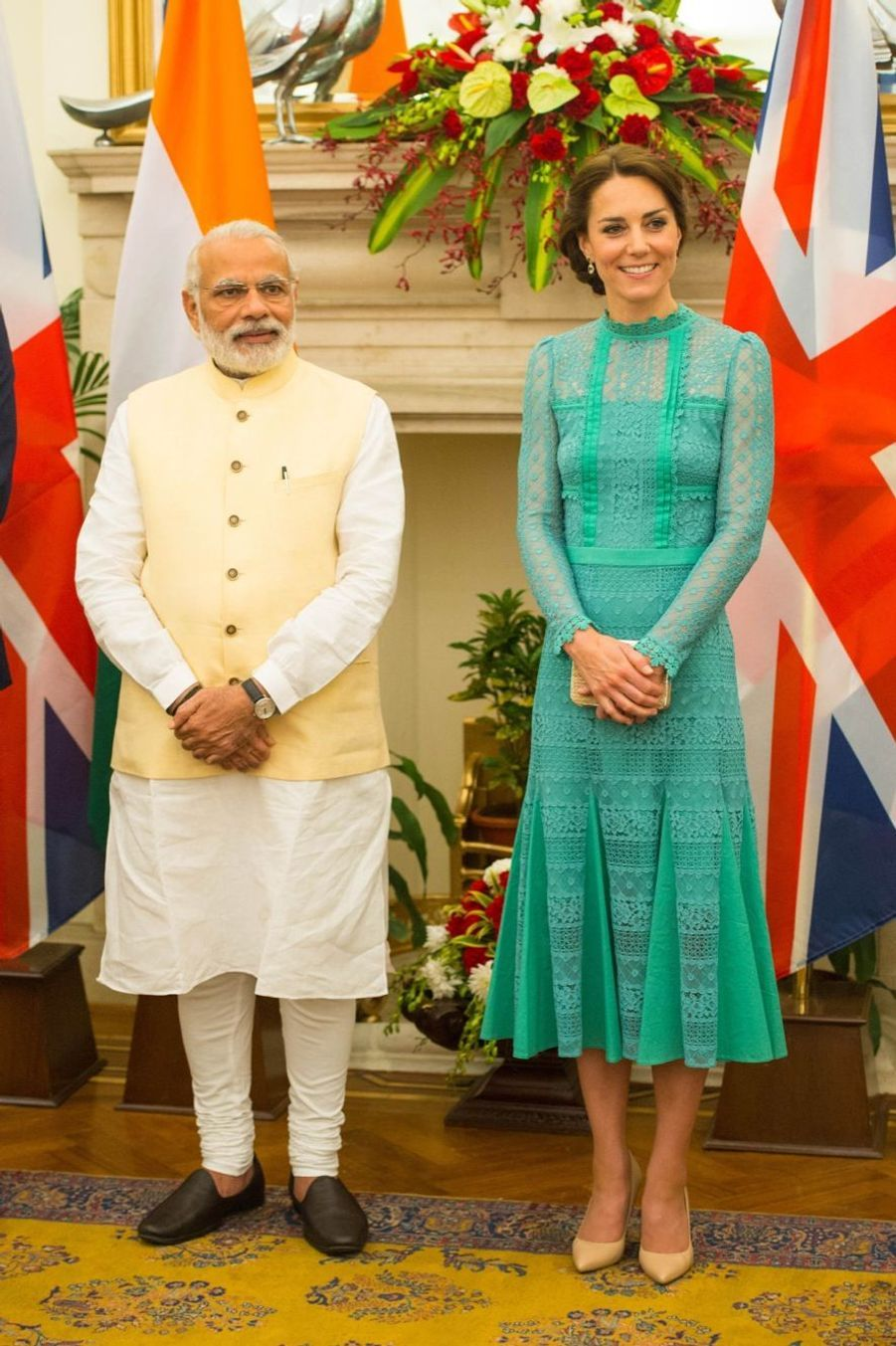 Kate et William font la fête en Inde