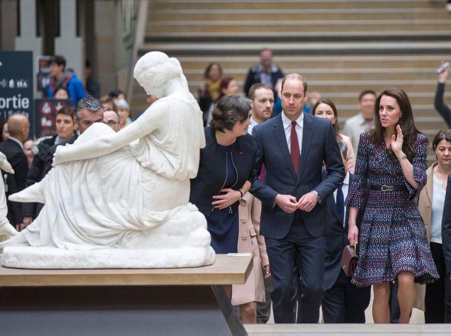 Kate Middleton Et Le Prince William Au Musée D'Orsay 1