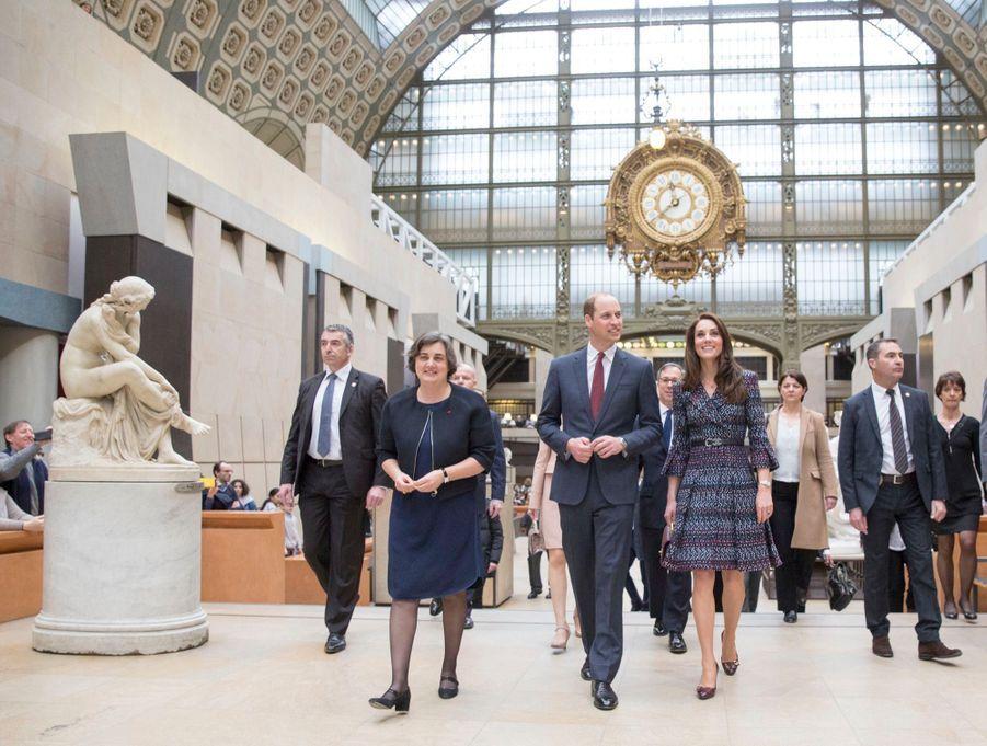 Kate Middleton Et Le Prince William Au Musée D'Orsay 10