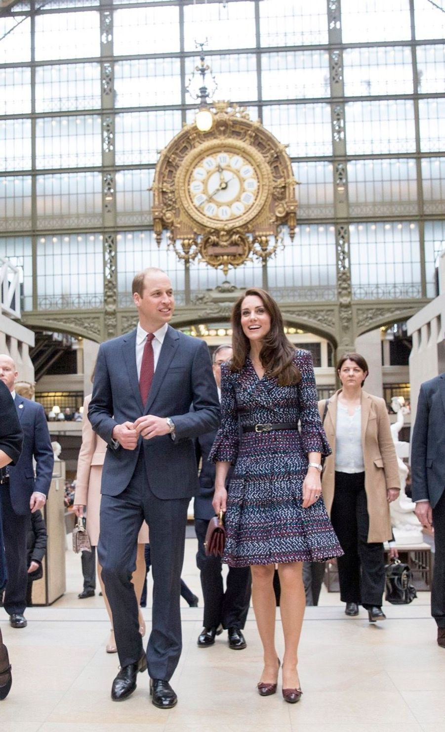 Kate Middleton Et Le Prince William Au Musée D'Orsay 11