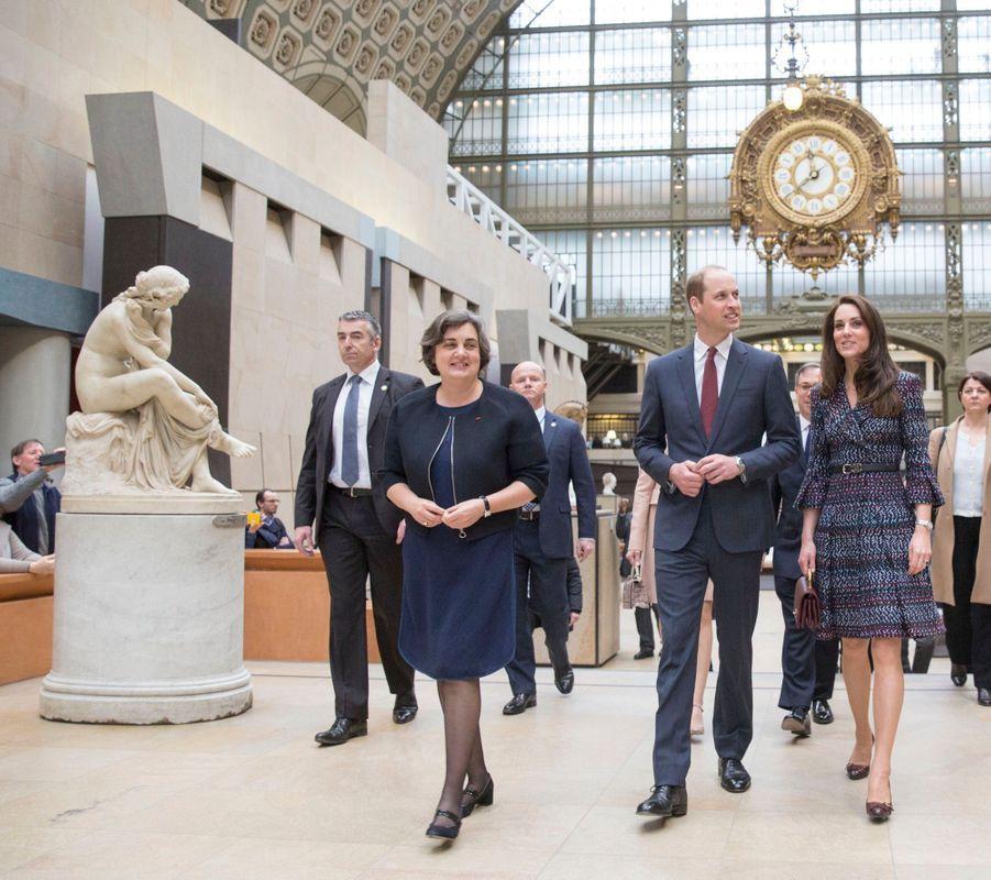 Kate Middleton Et Le Prince William Au Musée D'Orsay 12