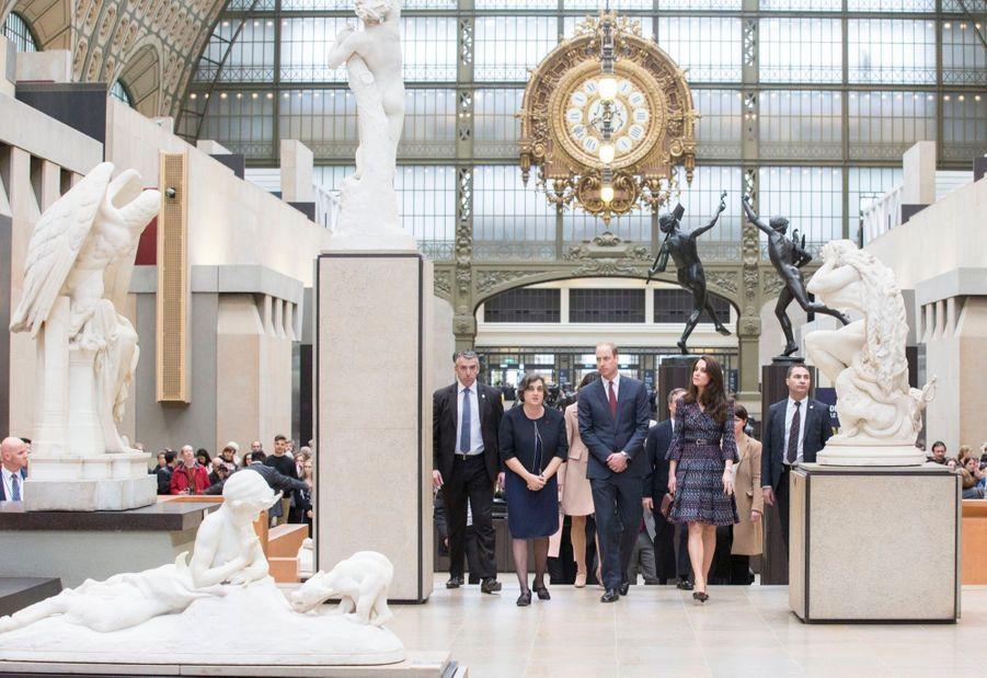 Kate Middleton Et Le Prince William Au Musée D'Orsay 13