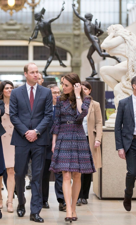 Kate Middleton Et Le Prince William Au Musée D'Orsay 15