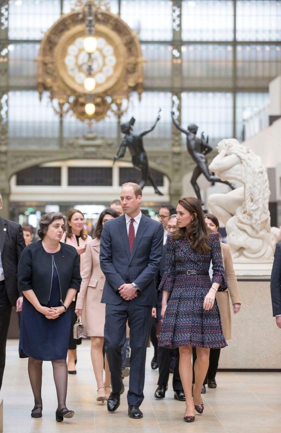 Kate Middleton Et Le Prince William Au Musée D'Orsay 16