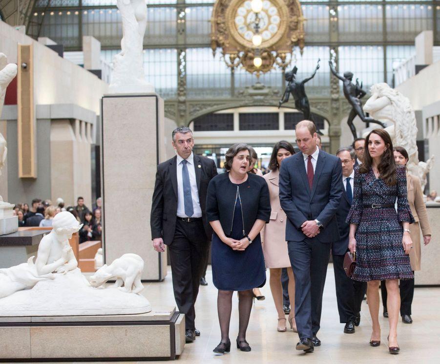 Kate Middleton Et Le Prince William Au Musée D'Orsay 18
