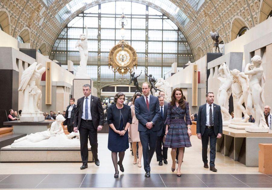 Kate Middleton Et Le Prince William Au Musée D'Orsay 20