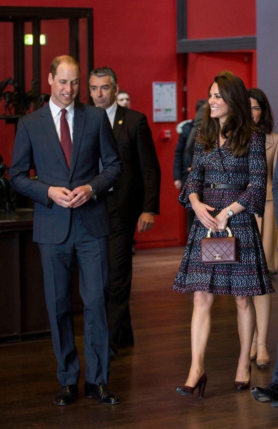 Kate Middleton Et Le Prince William Au Musée D'Orsay 22