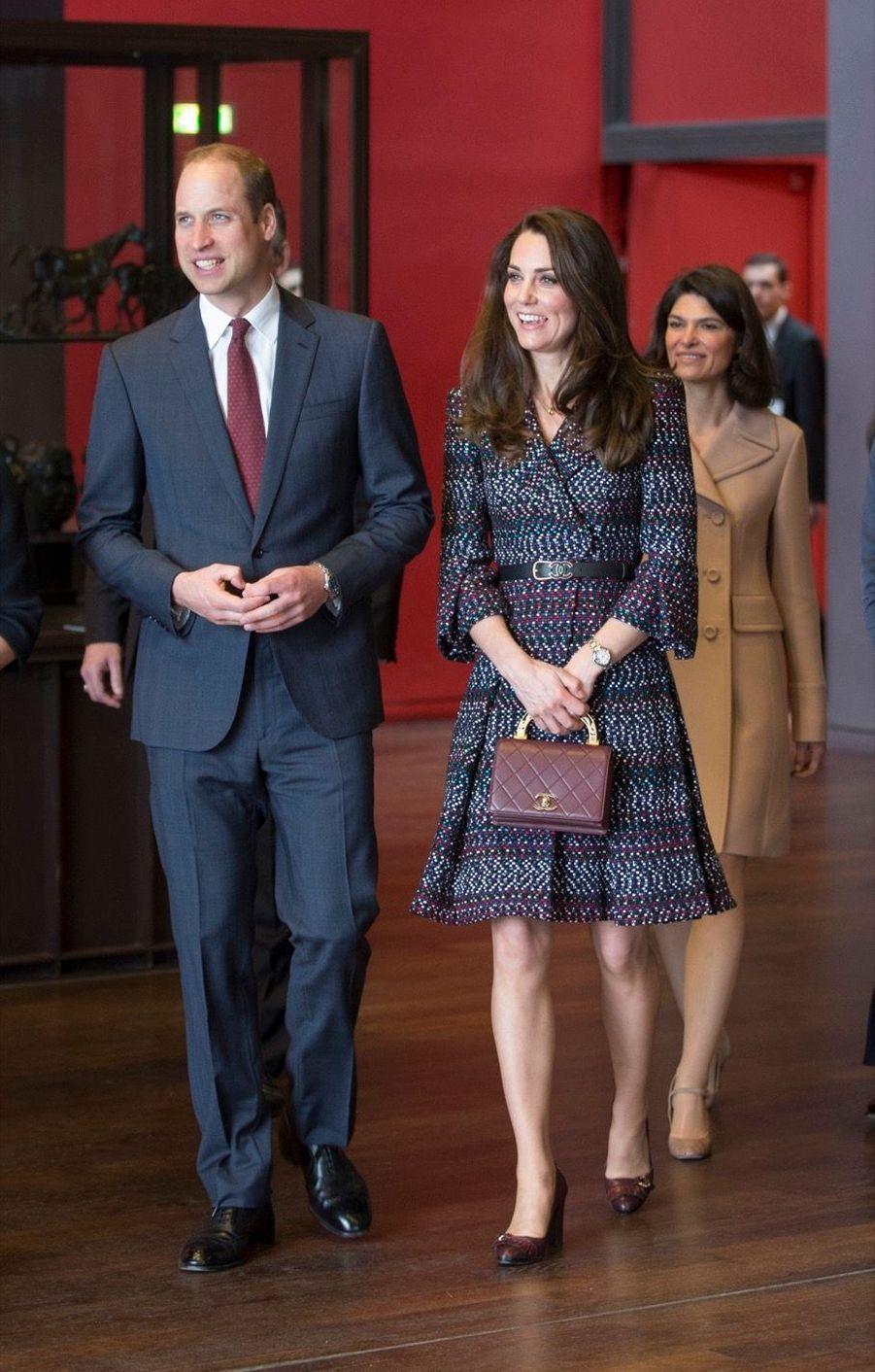 Kate Middleton Et Le Prince William Au Musée D'Orsay 23