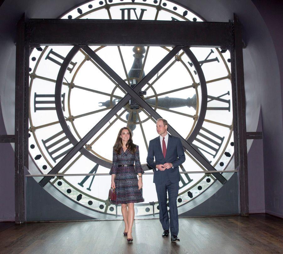 Kate Middleton Et Le Prince William Au Musée D'Orsay 29