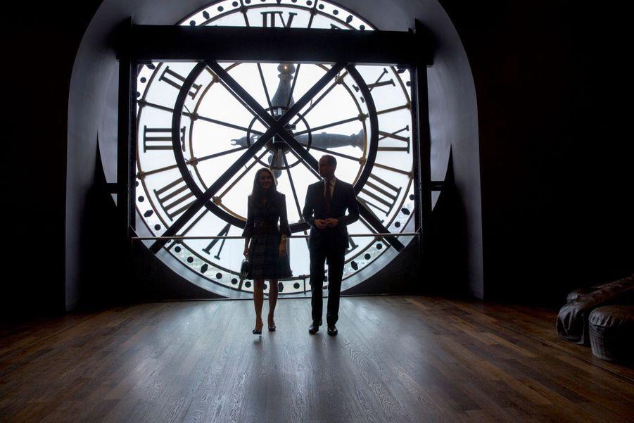 Kate Middleton Et Le Prince William Au Musée D'Orsay 30