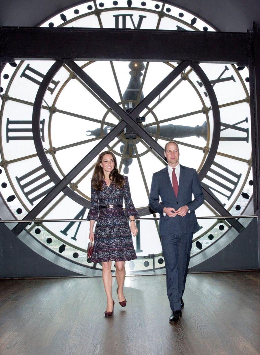 Kate Middleton Et Le Prince William Au Musée D'Orsay 31