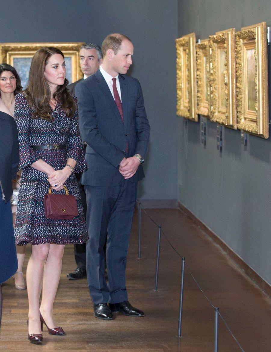 Kate Middleton Et Le Prince William Au Musée D'Orsay 32