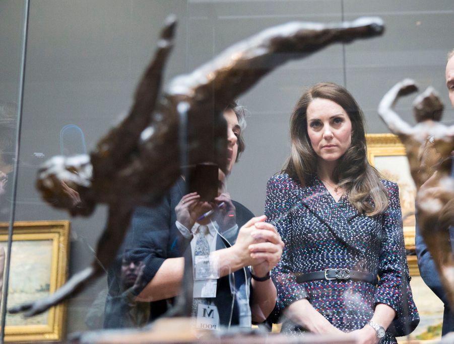 Kate Middleton Et Le Prince William Au Musée D'Orsay 34