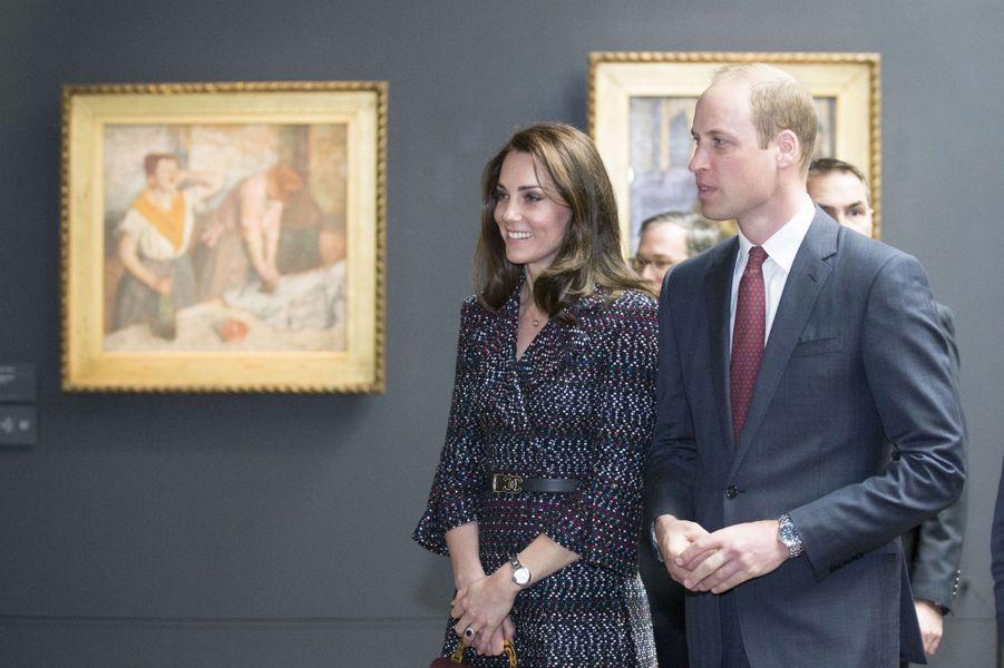 Kate Middleton Et Le Prince William Au Musée D'Orsay 36
