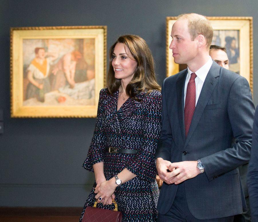 Kate Middleton Et Le Prince William Au Musée D'Orsay 37
