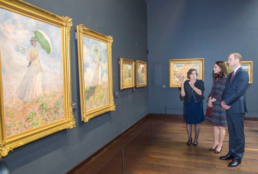 Kate Middleton Et Le Prince William Au Musée D'Orsay 38