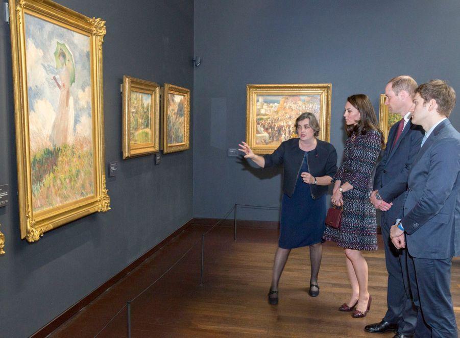 Kate Middleton Et Le Prince William Au Musée D'Orsay 39