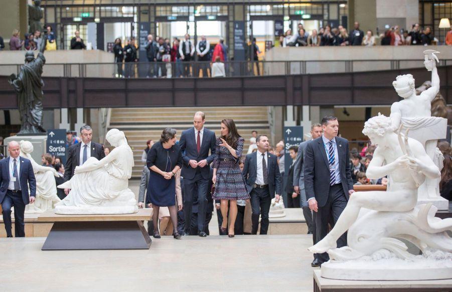 Kate Middleton Et Le Prince William Au Musée D'Orsay 4