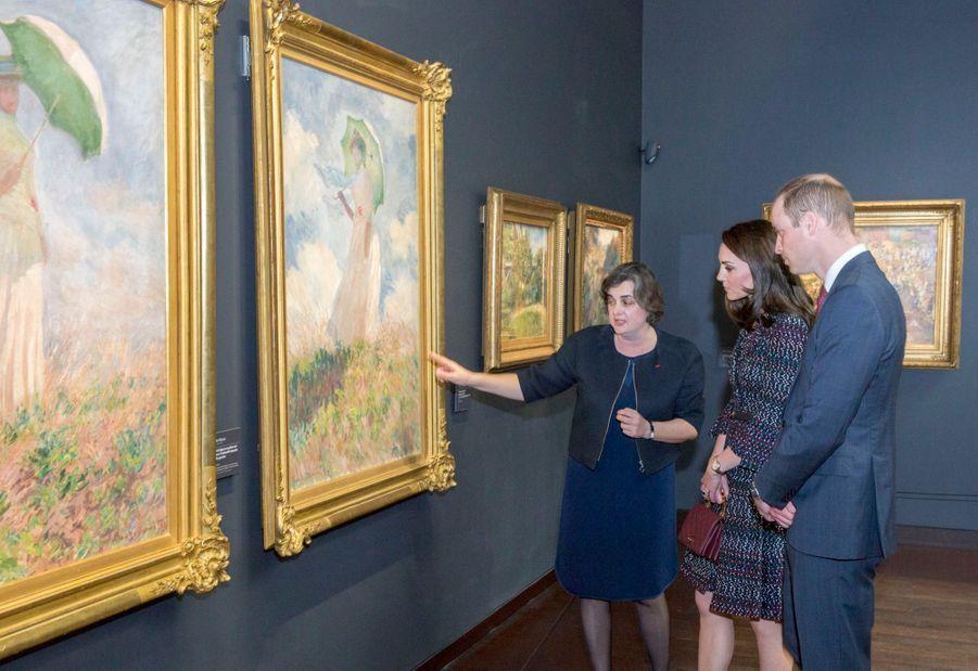 Kate Middleton Et Le Prince William Au Musée D'Orsay 40