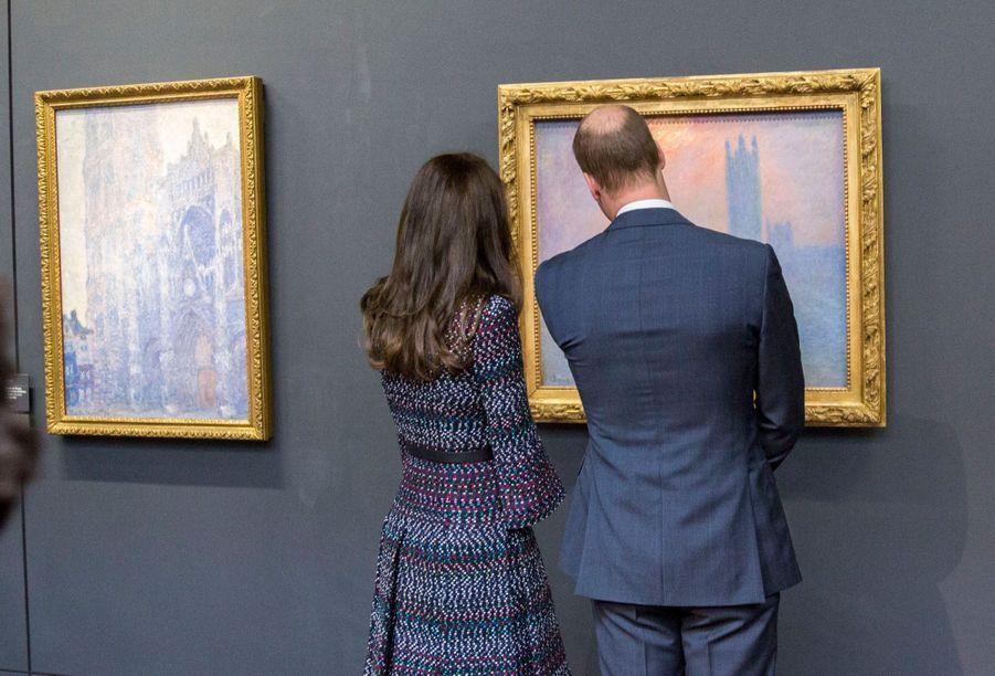 Kate Middleton Et Le Prince William Au Musée D'Orsay 41