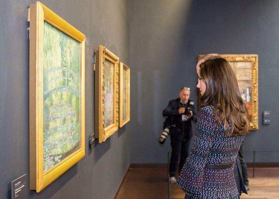 Kate Middleton Et Le Prince William Au Musée D'Orsay 42