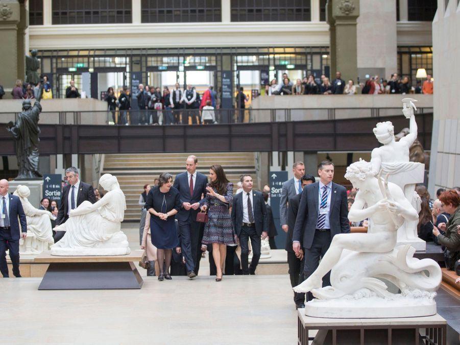 Kate Middleton Et Le Prince William Au Musée D'Orsay 5