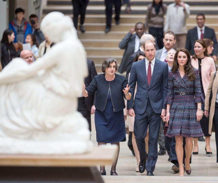 Kate Middleton Et Le Prince William Au Musée D'Orsay 6