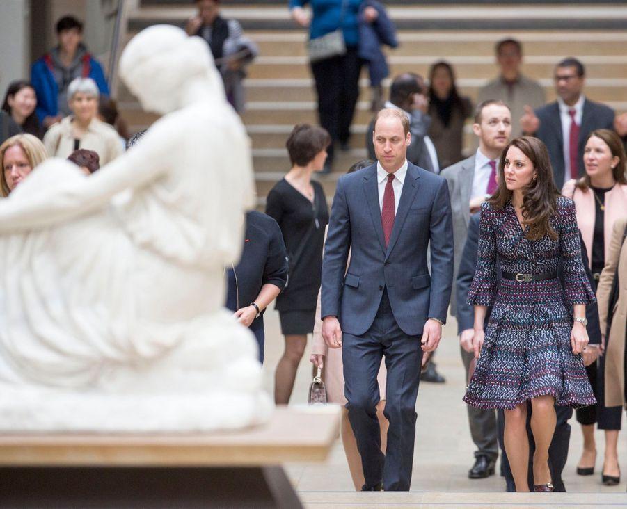 Kate Middleton Et Le Prince William Au Musée D'Orsay 7