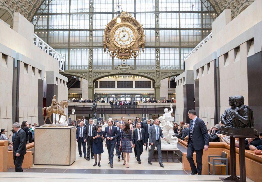 Kate Middleton Et Le Prince William Au Musée D'Orsay 8