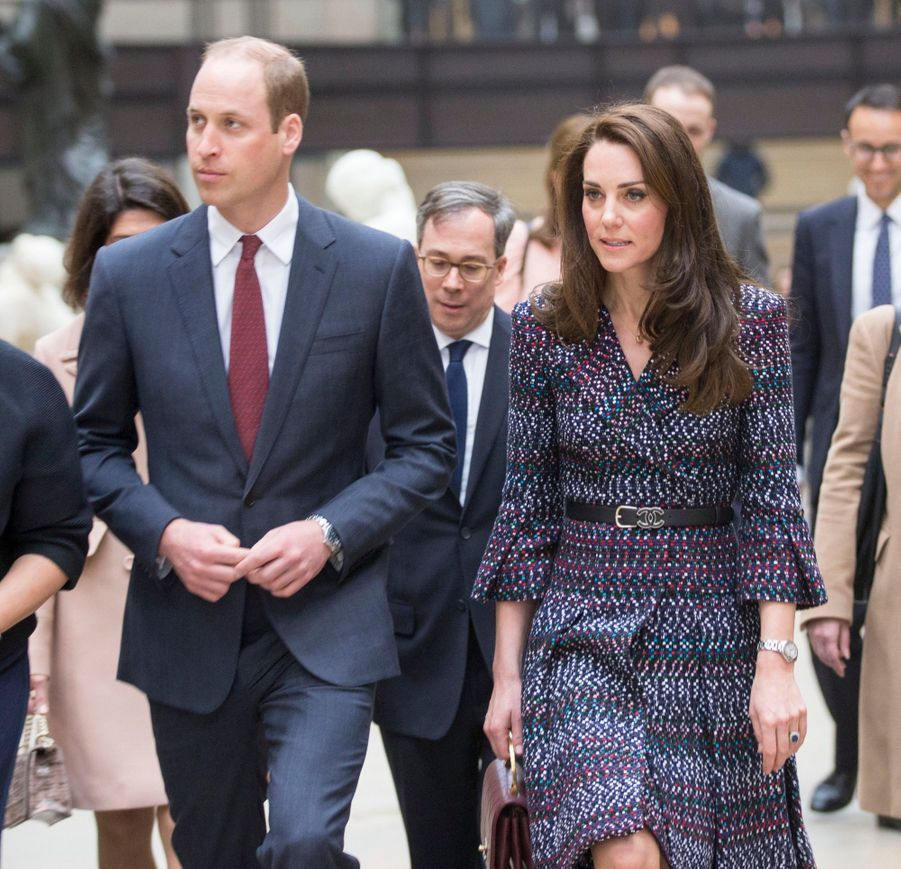 Kate Middleton Et Le Prince William Au Musée D'Orsay 9