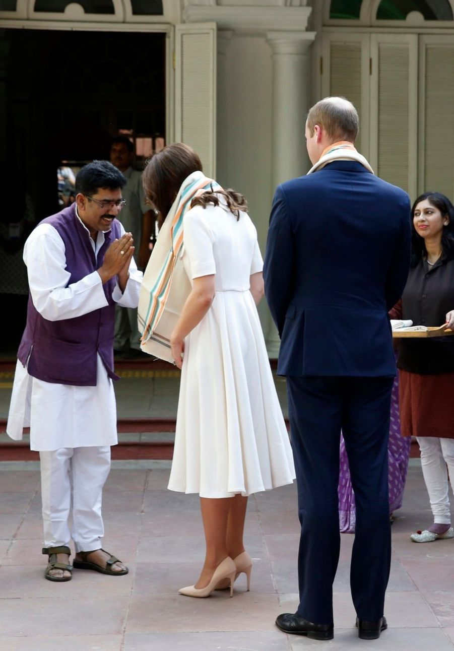 Kate et William, l'hommage à Gandhi