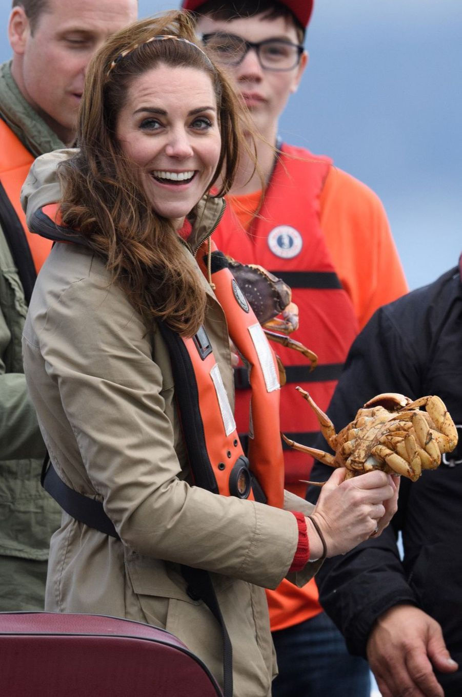 Kate et William, la bonne pêche