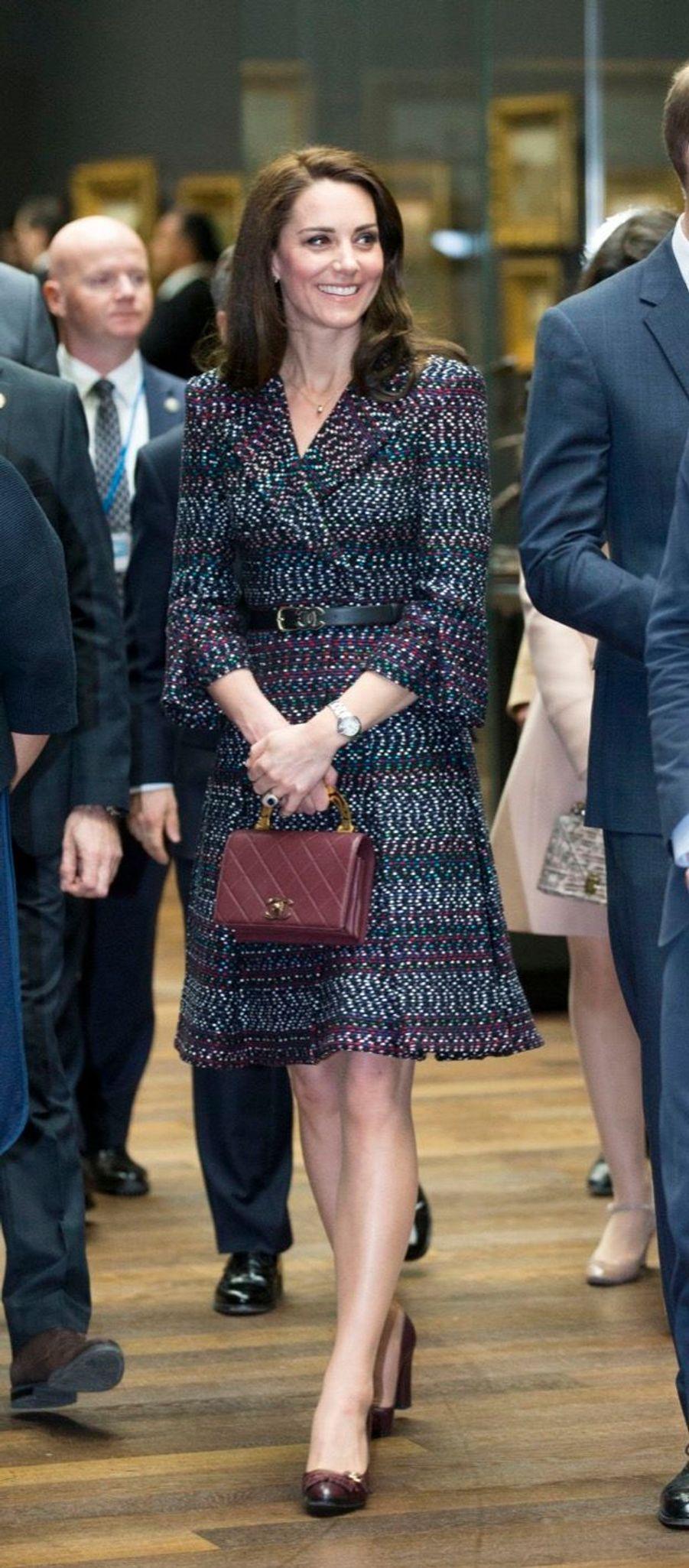 Kate Middleton Et Le Prince William Au Musée D'Orsay