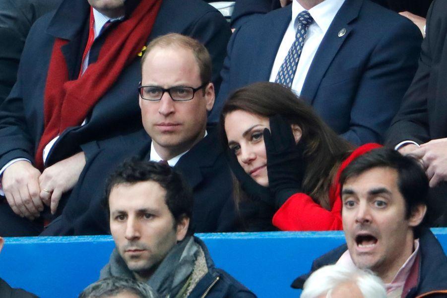Kate Middleton Et Le Prince William Au Stade De France Pour Le Match De Rugby France Pays De Galles